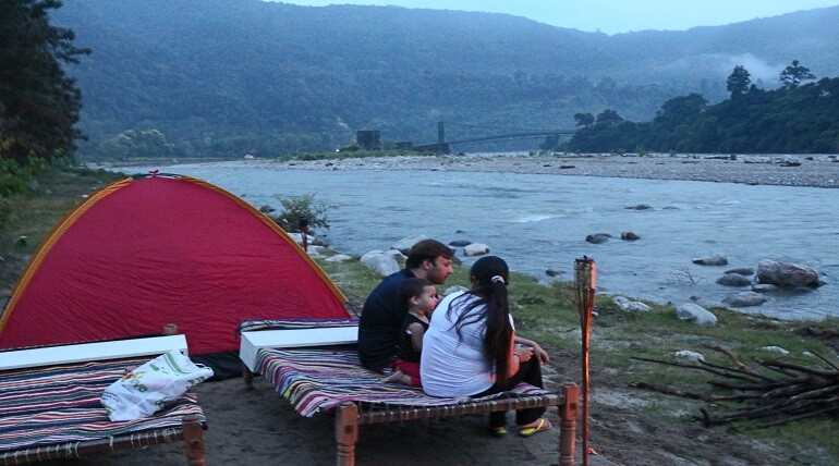 Amazing Riverside View At Jim Corbett