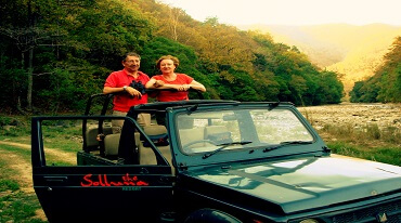 Enjoy The Wind In Open Jeep Safari