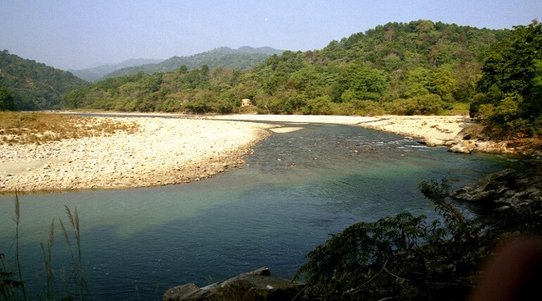 Kosi River In Corbett National Park