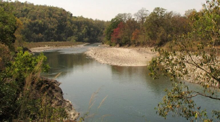 Ramganga River In Corbett
