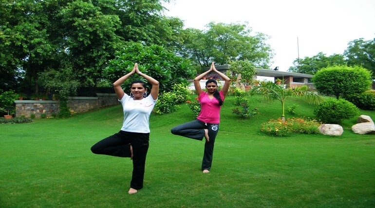 Yoga And Religious Park In Jim Corbett Park