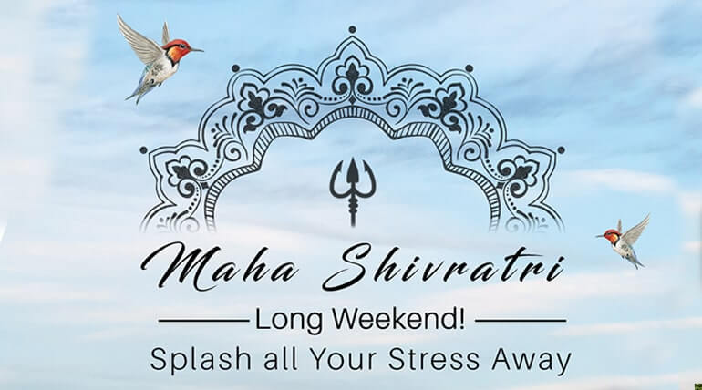WANT TO STEP INTO A GENTLE AND RELAXING WEEKEND VISIT SOLLUNA RESORT THIS MAHASHIVRATRI