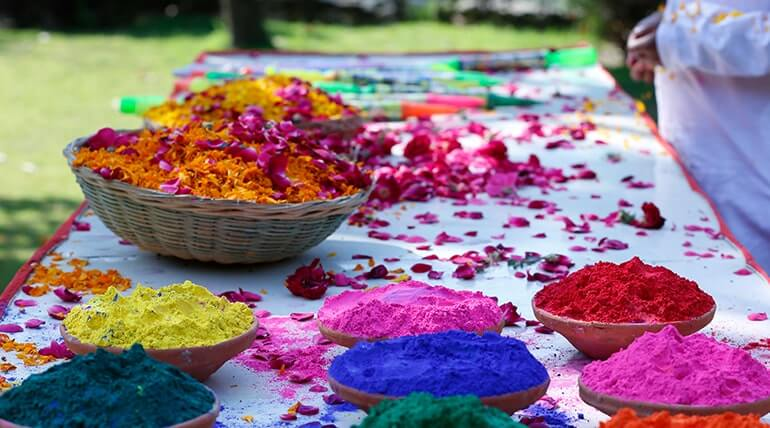 CELEBRATE ECO FRIENDLY AND COLOURFUL FESTIVAL OF HOLI WITH THE SOLLUNA RESORT