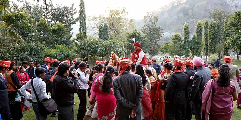 Luxury destination wedding in jim corbett