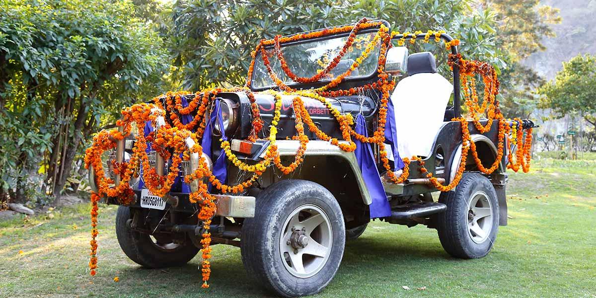 Deluxe destination wedding in corbett