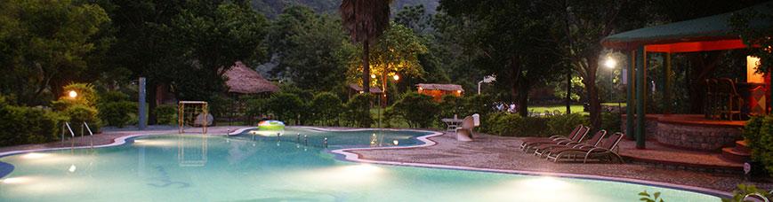 Luxury resorts in Corbett