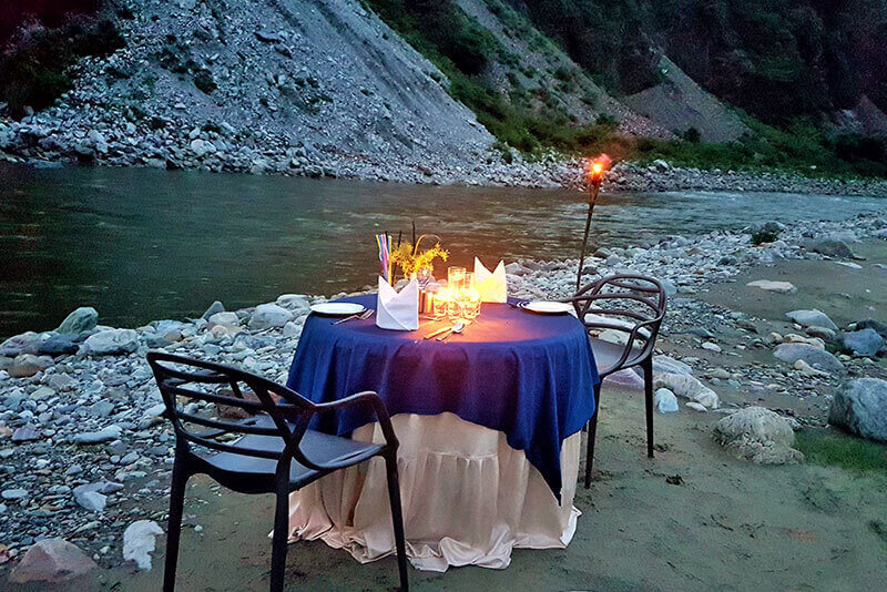 River Side Camping